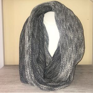 Gray Marbled Infinity Scarf